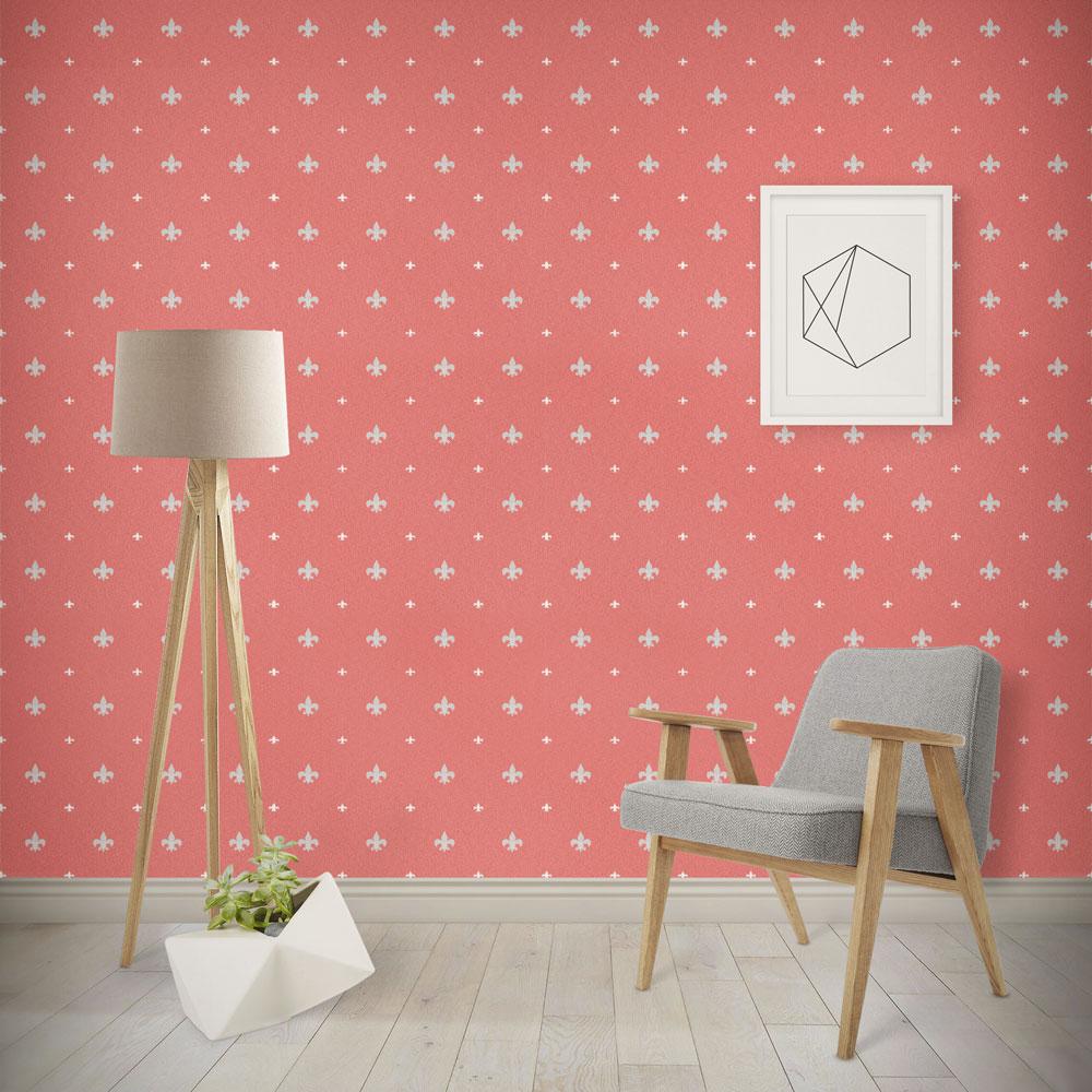 دانلود موکاپ کاغذ دیواری به همراه رول کاغذ