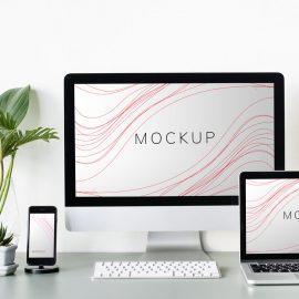 دانلود موکاپ لپ تاپ,کامپیوتر