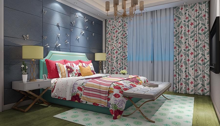 دانلود موکاپ ست کامل اتاق خواب در 3 نما