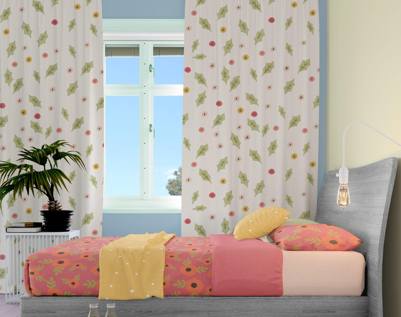 دانلود موکاپ اتاق خواب در سه نما