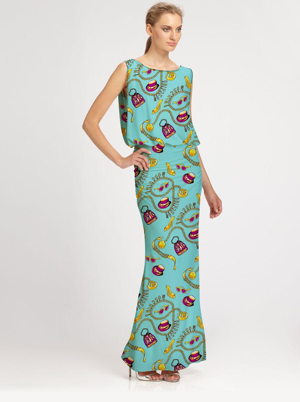 دانلود موکاپ لباس ماکسی بلند زنانه مدل 3