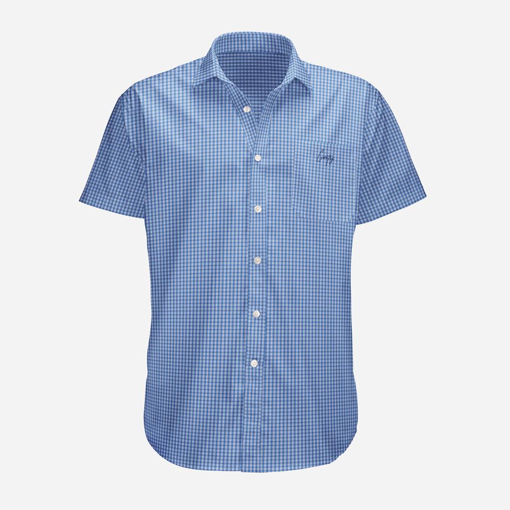 دانلود موکاپ پیراهن مردانه آستین کوتاه