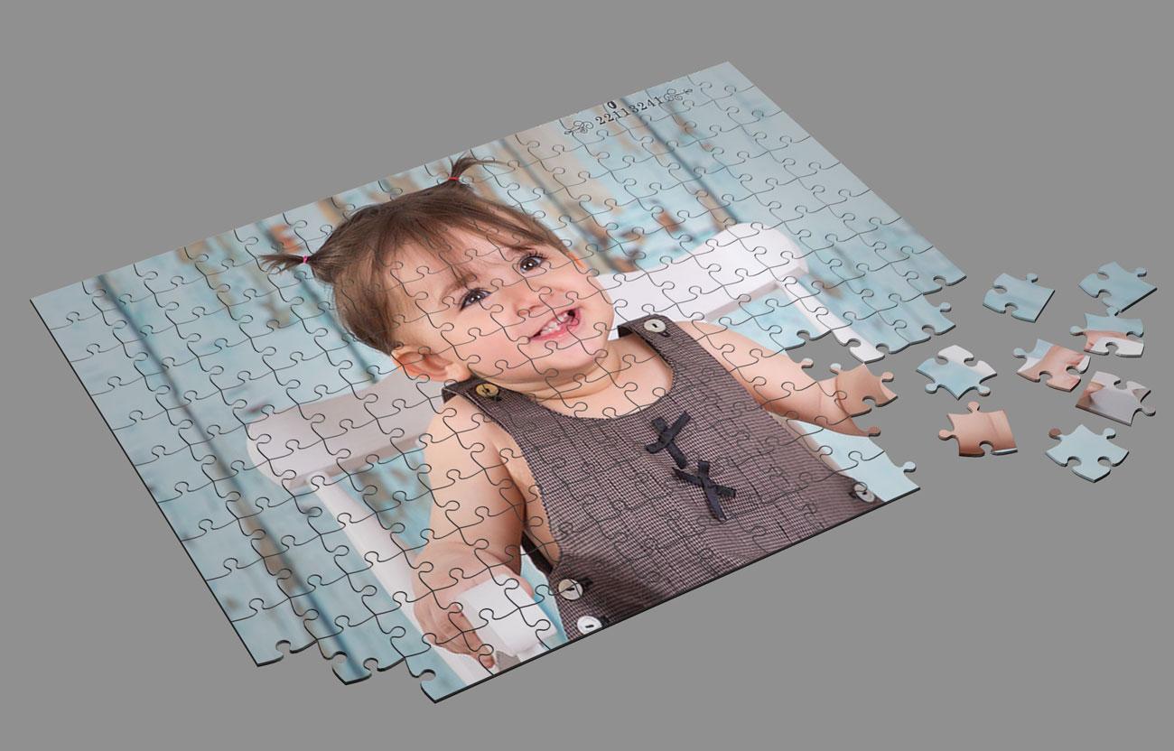 دانلود موکاپ سه بعدی عکس پازلی