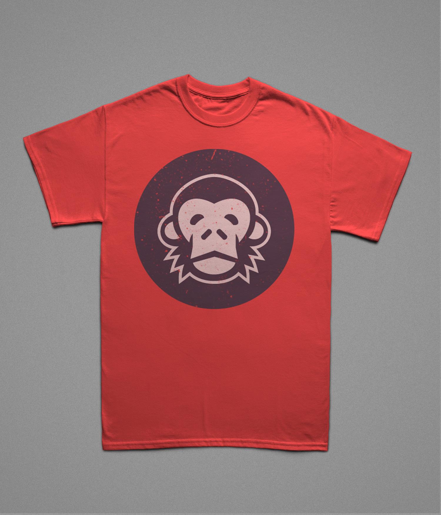 موکاپ تی شرت دخترانه و پسرانه شماره2