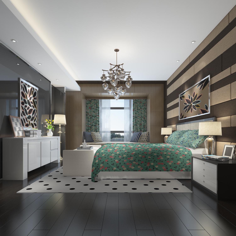 موکاپ ست کامل اتاق خواب با تمام امکانات شماره2