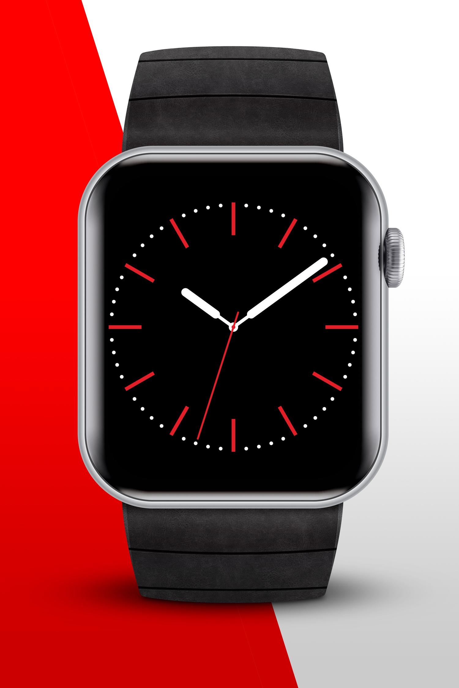 موکاپ ساعت هوشمند(اسمارت واچ)