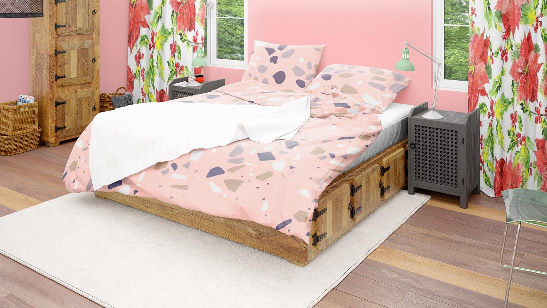موکاپ اتاق خواب مدرن با 4 نما شماره2