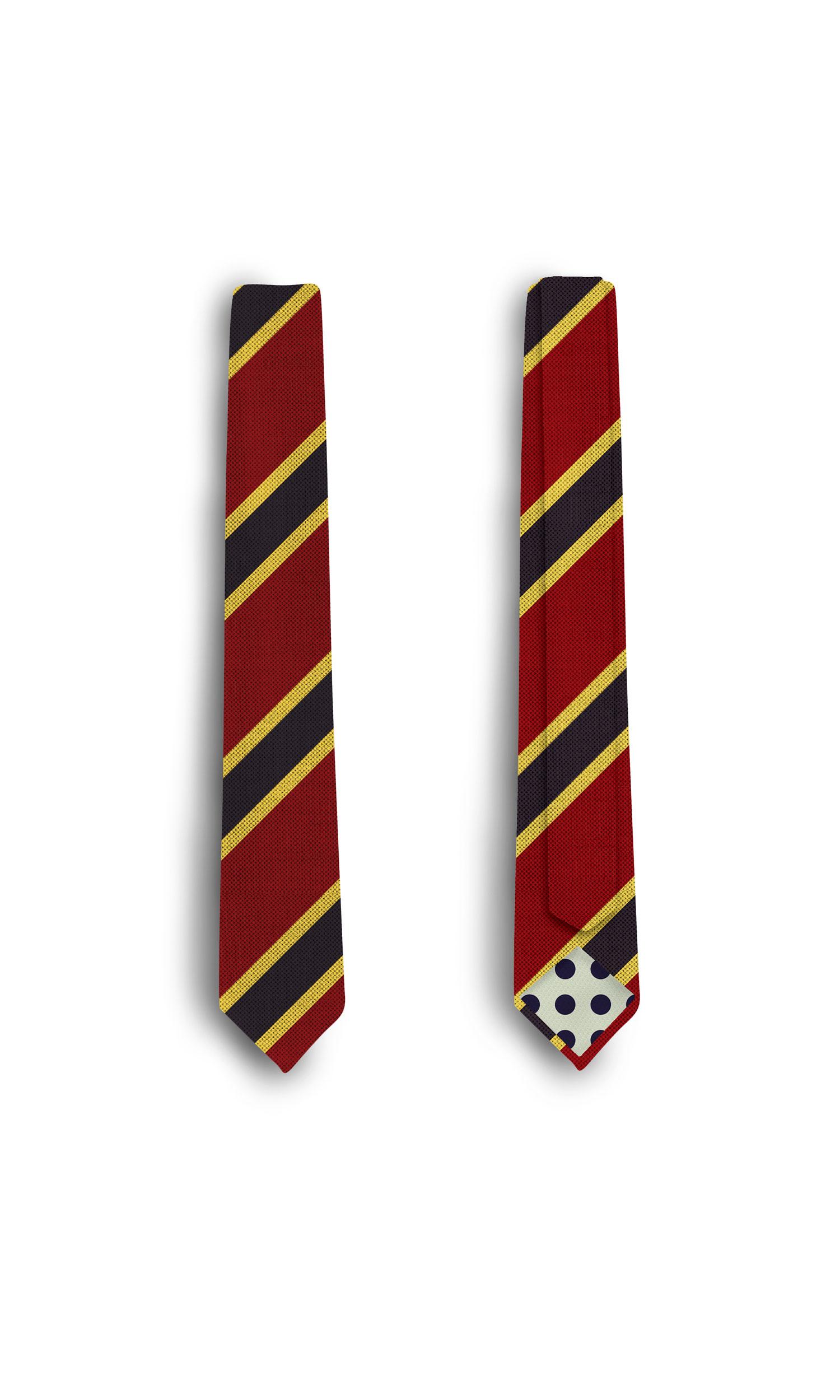 موکاپ کراوات به صورت پشت و رو