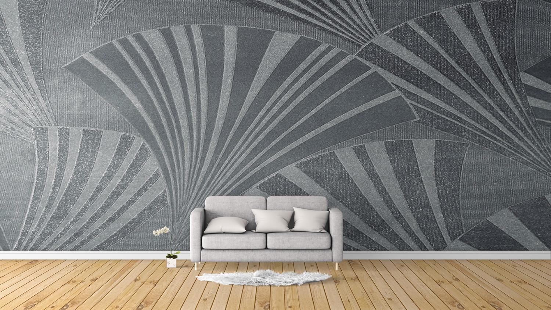 موکاپ کاغذ دیواری اتاق