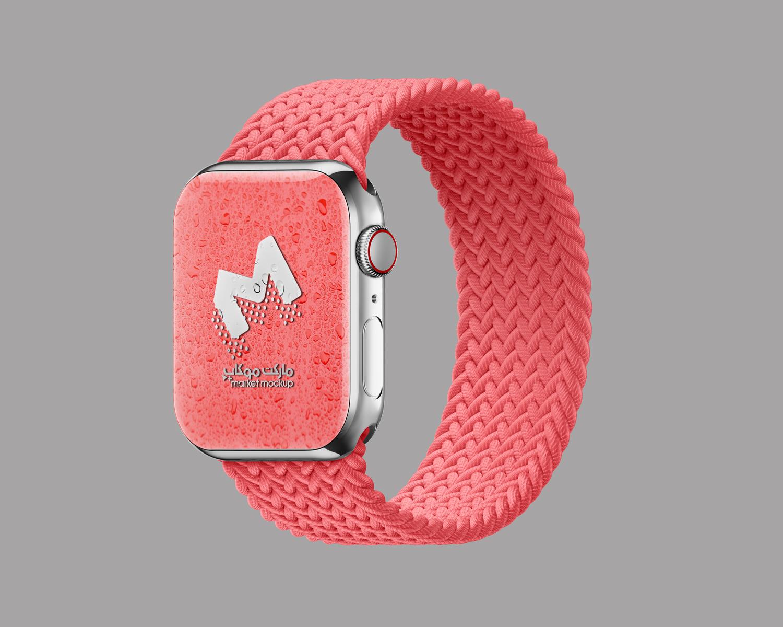 موکاپ اسمارت واچ(ساعت هوشمند)همراه با بند ساعت