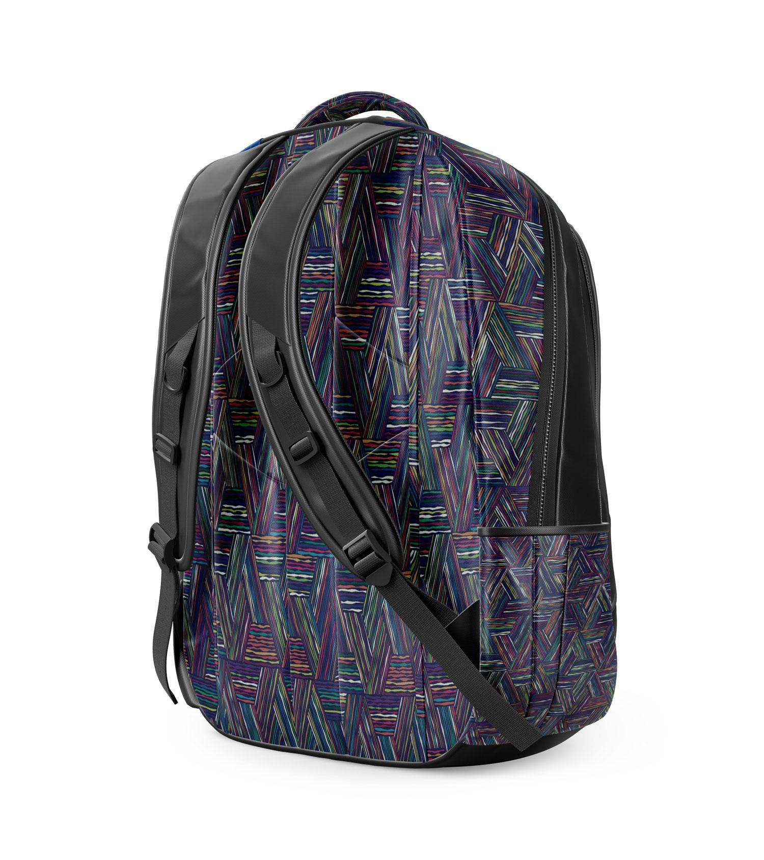 موکاپ کیف کوله پشتی از نمای پشت