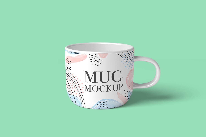 موکاپ لیوان طرح فنجان