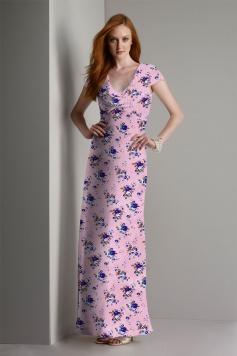 موکاپ لباس ماکسی بلند زنانه مدل ۵