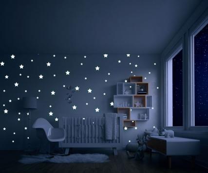 دانلود موکاپ نور چراغ خواب اتاق کودک